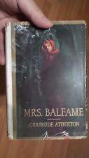 Mrs Balfame a Novel by Gertrude Atherton 1916 w/ Dust jacket