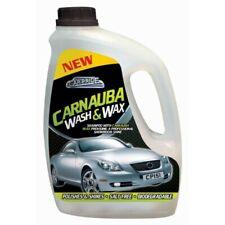 WASH AND WAX PROFESSIONAL CAR CLEANING SHAMPOO CARNAUBA WAX POLISH SHINE CLEANER