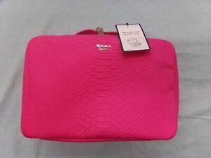 Victoria Secret PINK 4 Piece Travel Vanity Organizer Case ~ New With Tags!