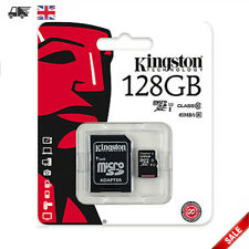 KINGSTON Micro SD 128GB SDXC Memory Card For Mobile Phone Camera Class 10 NEW UK