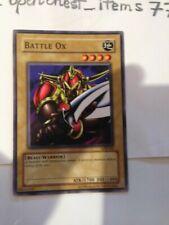 BATTLE OX *SDK-005 ENGLISH Yu Gi Oh!