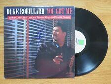 DUKE ROBILLARD signed YOU GOT ME 1988 Record / Album COA FABULOUS THUNDERBIRDS