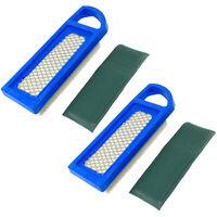 2pcs HQRP Air Filtres Pour Bolens 13AM761F065 13AM761F265 13AM762F065
