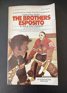 The Brothers Esposito Tony Moriarty Phil & Tony Esposito 1973 Lancer Paperback
