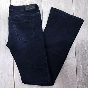 Diesel Jeans Louvboot 0804Q Womens 27x32 Dark Wash Low Rise Slim Boot cut J00