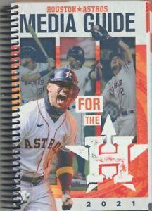 2021 Houston Astros Media Guide - Jose Altuve/Alex Bregman/Carlos Correa