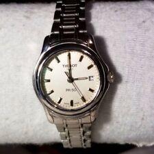 TISSOT 1853 PR-50 J126 / 226K Silver Dial Stainless Link Bracelet Ladies Watch