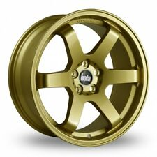 "18"" BOLA B1 ALLOY WHEELS FITS KIA DODGE CHRYSLER CITREON 5X114.3 GOLD"