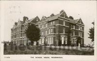 WOODBRIDGE  School House Postcard nr Ipswich SUFFOLK Kingsway Real Photo Series