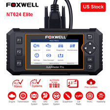 Automotive Full System Scanner Diagnostic Tool Airbag ABS EPB Oil Service Reset