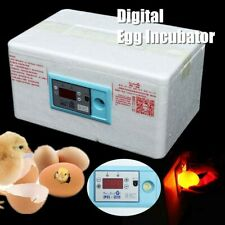 20 Eggs Automatic Digital Incubator Poultry Hatcher Temperature Control Brooder