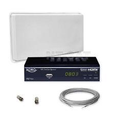 Komplette Anlage SelfSat mit HD Receiver Xoro HRS 8525, Kabel
