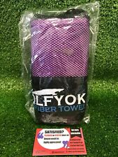 Wolfyok 2 Pack Microfiber Travel Sports Towel XL Ultra Absorbent and Quick Dryin