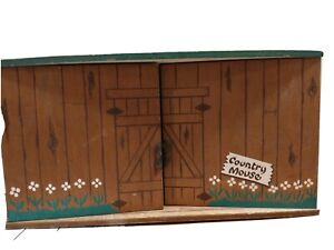 Vintage FAOSchwarzSteiff Country Mouse House Only No Accessories