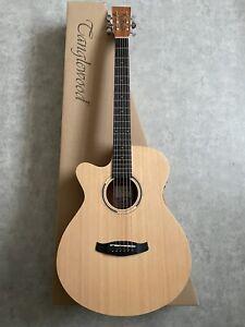 Folk Electro Acoustic Guitar Left Hand Handed £259 w/ Cedar Top + Mahogany Body