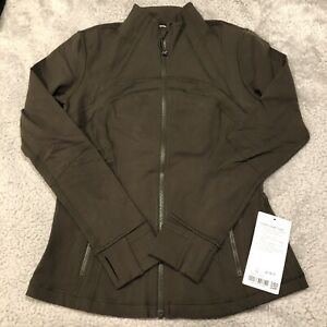 Lululemon Define Jacket Size 10 Dark Olive