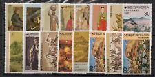 Korea Folk Painting (3) Series Stamp sets  MNH