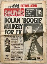 Sounds Newspaper 29 July 1972 (UK Music News) Marc Bolan & T. Rex