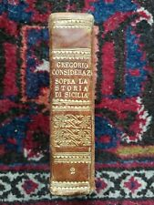 Rosario Gregorio Considerazioni sopra la storia de Sicilia 1833