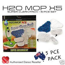 Danoz H20 X5 Microfiber Super Clean Pack [5 PIECE PACK] + WARRANTY