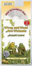 NEW Frog and Toad Are Friends Book and CD (I Can Read Level 2) by Arnold Lobel