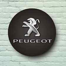 PEUGEOT BADGE LOGO 2FT GARAGE SIGN WALL PLAQUE 106 107 405 408 4007 BIPPER BOXER