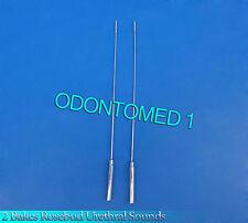 2 Pcs Bakes Rosebud Urethral Sounds 3mm+4mm