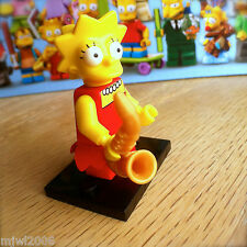 LEGO 71005 THE SIMPSONS Minifigures LISA SIMPSON #4 SEALED Minifigs Series 1 SAX