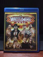 WWE - Wrestlemania XXI (Blu-ray Disc, 2010, 3-Disc Set, Collector's Edition)