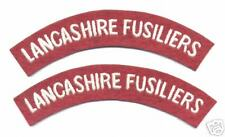 British Lancashire Fusiliers Shoulder Titles WW2 (Copy)