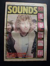 SOUNDS 10/12/83 PUNK HEAVY METAL SLADE CRAMPS BOURGIE COCK SPARRER FAD GADGET