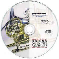 Professional Brass Quintet / Brass Quartet CD PDF