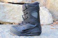 10 RARE Nike Zoom Kaiju Black Snowboarding Boots Men's Size 6 (Wmns 7.5)