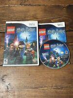 LEGO Harry Potter: Years 1-4 (Nintendo Wii, 2010)- Complete