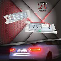 2 x Premium LED Kennzeichenbeleuchtung Kennzeichenleuchten Opel Xenon Weiss