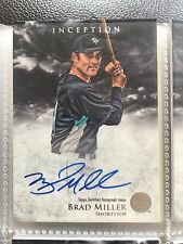 2013 Bowman Inception Prospect Autographs #PA-BM Brad Miller Auto Baseball Card