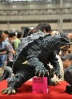 Unpainted gamera 50 cm high, resin model kit, Godzilla