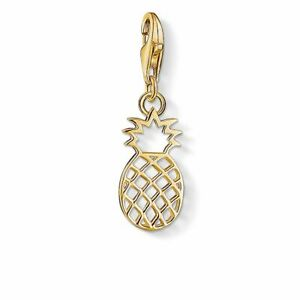 Thomas Sabo Pineapple Gold-Plated Silver Charm 1439-413-39