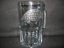 New Etched Pangolin Glass Root Beer Mug
