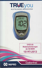 Trueyou Blood Glucose Meter Startset MG / DL PZN 9280998 - New+Boxed from Dealer