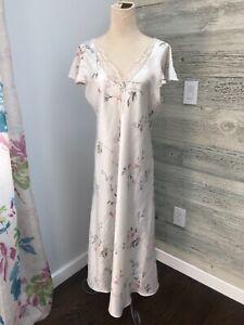 Rare Vtg Christian Dior by John Galliano Floral Print silk dress