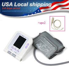 OLED Digital Blood Pressure Monitor Heart Beat Monitor NIBP Pulse Oximeter Spo2