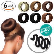 Magic DYI Hair Bun Maker for Girls + BONUS Fishtail Braid Tool
