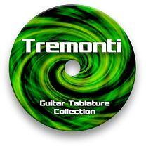 TREMONTI ROCK METAL GUITAR TAB TABLATURE SONG BOOK ANTHOLOGY SOFTWARE CD