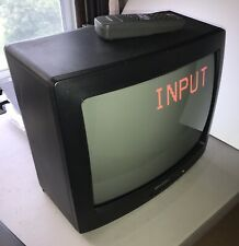Sharp CRT Color TV 13 Inch CRT Television with Remote Nice Retro Gaming TV