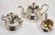 Antique Russian Silver Coffee Set Gilded Sergei Gubkin 1856