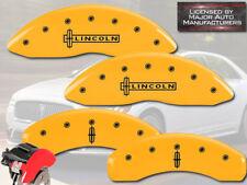 2003 2010 Lincoln Town Car Front Rear Yellow Mgp Brake Disc Caliper Cover Star