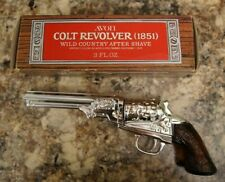 Vintage Avon Collectible Colt Revolver (1851) w/ box Wild Country empty bottle