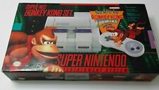 Super Nintendo SNES Donkey Kong Country Bundle Complete In Box CIB