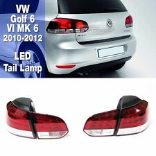 Rear LED Tail Light Lamp LH RH Assembly for VOLKSWAGEN 2010-2012 Golf 6 VI MK6